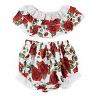 Toddler Infant Kids Baby Girls Summer Floral Dress Princess Party Dress Sunsuit