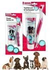 Beaphar Adult Dog & Puppy Dental Oral Hygiene Toothbrush & Toothpaste Kit