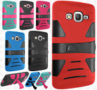 Samsung Galaxy Express Prime Hard Gel Rubber KICKSTAND Case Protector Cover
