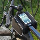 Cycling Bicycle Bike Frame Front Pannier Saddle Bag Pouch MountainTouch Screen