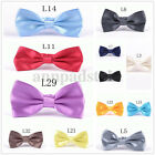 Classic 35-Color Men's Adjustable Tuxedo Bowtie Wedding Party Bow Tie Necktie