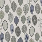 VIOLET AND GREEN - FLOATING LEAVES - NEUTRAL GROUND- MAYWOOD STUDIOS 100% cotton