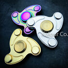 Tri Fidget Hand Spinner Triangle Finger Toy EDC Focus ADHD Autism Kids METAL New
