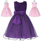 2017 Girl Princess Birthday Dress Bridesmaid Wedding Pageant Party COCKTAIL Dres