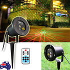 SUNY 8 Gobos Laser Stage Projector Light Garden Lawn House Landscape Stage Light