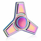 Canada Stock! Rainbow colorfull Aluminum metal Hand Finger Fidget Spinner toy
