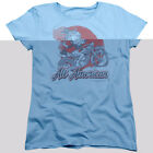 Betty Boop All American Biker Womens Short Sleeve Shirt $20.95 USD