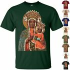 black madonna of częstochowa - BLACK MADONNA of Częstochowa V2Christian Mary T Shirt sizes S-5XL POLAND