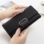 Fashion Lady Purse Leather Clutch Bag PU Long Wallet Women Card Holder Handbag