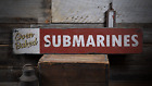 Submarine Sandwich, Sandwich, Oven - Rustic Distressed Wood Sign ENS1000920