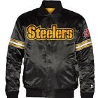 pittsburgh stealers starter jacket mens size xl