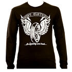 In Quality We Trust White Brand - Svedy Clothing Longsleeve Fashionbrand Wings
