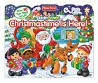 Fisher-Price Little People Christmastime Is Here! (Lift-the-Flap) by Fisher-Pric