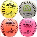 Aresson Autocrat Leather Stitched Rounders Ball - Orange, Pink, Yellow or White