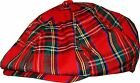 New Scottish Tartan Country Check Baker Boy Golf Newsboy Ivy Cabbie Flat Cap Hat