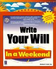 Write Your Will In a Weekend (In a Weekend (Premie