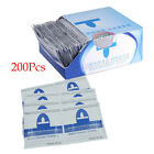 200X Nail Art Soak Off Remover Gel Polish Acrylic Removal Foil Wraps Pad