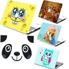 Cute Cartoon painting Matte Hard Laptop Case For Macbook Air Pro 11 13 15 12+KB