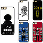 Sherlock Holmes TV Series Sherlock Phone Case Cover For iPhone / Samsung / Touch