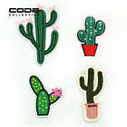 4 Styles Cactus Embroidered Patch Iron Sew On Applique DIY Clothes Bag Hat Badge