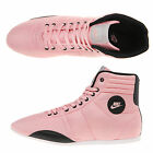 Nike Women's Hijack Mid High Top Trainers Shoes Pink Black Sports Leisure Retro