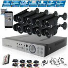 CCTV System 8 Channel HD 1080P 2.4MP Night Vision Outdoor DVR Home Security Kit