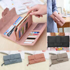 New Women Lady Trifold Long Leather Card Wallet Clutch Checkbook Purse Handbag