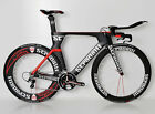 STRADALLI TIME TRIAL TRI CARBON AERO BIKE SHIMANO ULTEGRA 6800 FSA 85MM WHEELSET