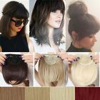 Real Natural Hair Extensions Clip In Front Hair Bangs Fringe human Love Hair Fz7