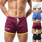 Hot Adult Mens Casual Training Running Jogging Gym Sport Polyester Shorts M-2XL