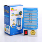 Insect Controller Mosquito Zapper LED Light Fly Pest Bug Trap Night Lamp Killer