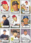 2007 TOPPS '52 BLACK & RED BACK SINGLES***YOU PICK***