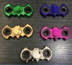 Metallic Bat Fidget Hand Spinner Toy Finger EDC ADHD Autism Anti Stress AME