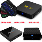 Android 7.1 Smart set top TV Box Quad core WIFI BT4.1 4K Media Player + Keyboard
