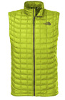 Men's The North Face Thermoball Down Vest Venom Yellow NWT Large Small