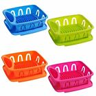 New Design Dish Drainer Plastic With Removable Tray Stand Holder