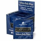 Defense Soap Body Wipes, 12 individually Packed Wipes, Tea Tree & Eucalyptus Oil