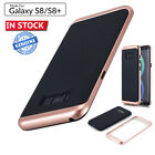For Samsung Galaxy S8 S8+ Luxury Leather Back Ultra Thin TPU Plastic Case Cover
