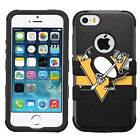 Pittsburgh Penguins #ST Hybrid Case for iPhone SE/6/7/Plus/Galaxy S7/S8/Plus
