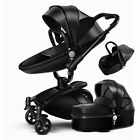 #Baby stroller 3 in 1 Carriage 360� high view Travel Foldable pushchair