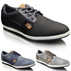 Mens New Casual Smart Leather Lined Formal Lace Up Plimsolls Shoes UK SIZE 6-11