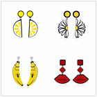DIY Design Fashion Women Lady Multi-shape Charm Cute Ear Stud Earrings Gift