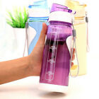 650ml Unbreakable Leak-proof Sport Travel Cycling Camping Water Bottles Workout
