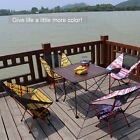 Aluminum Alloy Folding Camp Chair Colorful Outdoor Portable Folding Seat