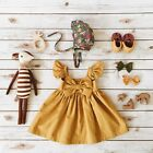 Cute Toddler Kid Baby Girl Clothes Princess Party Prom Bowknot Tutu Summer Dress