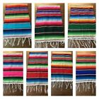 """Mexican Serape Table Runner 81""""X14"""" 1st quality XLARGE ,Saltillo , Party Decor"""