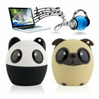 VTB-BM6 Mini Portable Animal Speaker Stereo Bluetooth Wireless Speakers YT