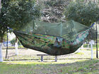 Double Hammock Mosquito Net Outdoor Hiking Travel Bed Lightweight Sleeping Gear