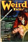 "Weird Tales  #33  Vol 4  Pulp 1939  VG  Vergil Finlay coverLovecraft, Mc""Clusky,"
