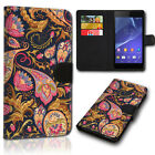Sony Xperia X Compact - Book Flip Cover Handyhülle Etui Case Handy Tasche Hülle